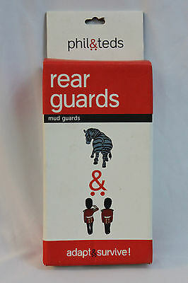 Brand New in Box Phil & Ted's Rear Guards to Fit e3 Buggy Stroller Mud Guards