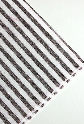 Premium Grease Cooker Hood Filters -Indicator Stripe-Cut To Fit -Choose Quantity