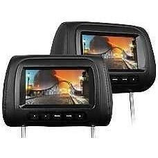 Par Reposacabezas Monitor Digital Screen 7 Usb Sd Mp3 Fm Transmitter Eonon L0287
