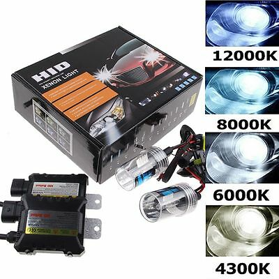 55W HID Xenon Headlight Conversion KIT H1/H4-2/H4-3/H7/H8/H9/H11/H10/9005/9006