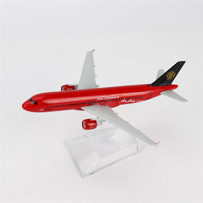 16cm 1/400 Airbus320 United Airlines Diecast Model BOEING A-320 Aircraft Plane