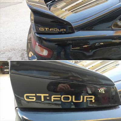 Toyota Celica Gt-Four St205 Gt4 Riser Blocks Spoiler Infill Stickers Decals