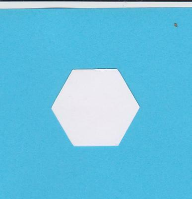 100 - 1 Inch Hexagon 160Gsm Card Templates For Patchwork~Perfect For Quilting