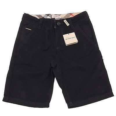 1380P bermuda bimbo blu BURBERRY  shorts pants kid