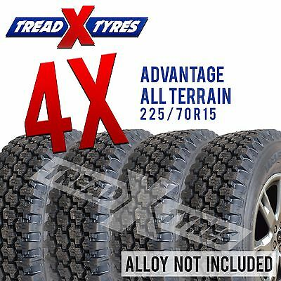 4x New 225/70R15 C Advantage All Terrain AT Commercial Tyres Fitting Available