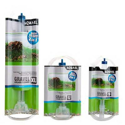 Fish Tank Gravel Cleaner Aquarium Water Remove Algae Glass Cleaner New L, Xl