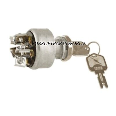 Clark, Hyster Yale, Universal  Forklift Ignition Switch, Crown Daewoo