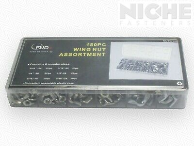 Wing Nut Assortment ZC 150pc (2 Pieces)