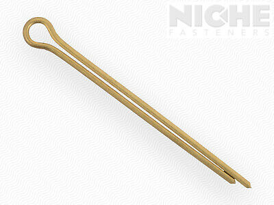 Cotter Pin 3/32 x 1-1/2 Brass  (200 Pieces)