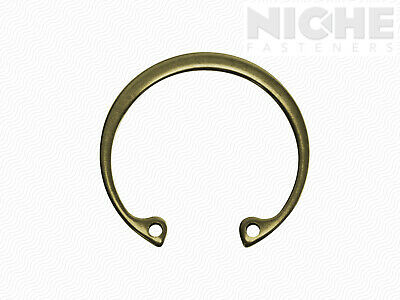 Housing Retaining Ring Internal 2-3/8 Spring Steel ZY (25 Pieces)