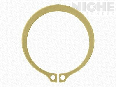 Snap Retaining Ring External 2 Spring Steel ZY (50 Pieces)