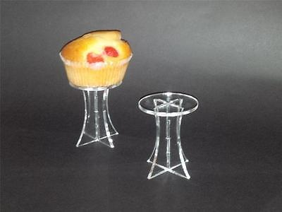 20 x SMALL INDIVIDUAL SINGLE CUP CAKE / FAIRY CAKE MUFFIN STAND