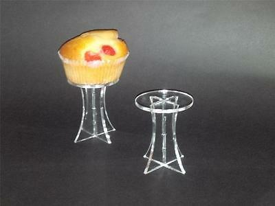 5 x SMALL INDIVIDUAL SINGLE CUP CAKE / FAIRY CAKE MUFFIN STAND