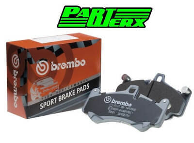 Abarth 500 Brembo Sport Front Brake Pads 18.4mm