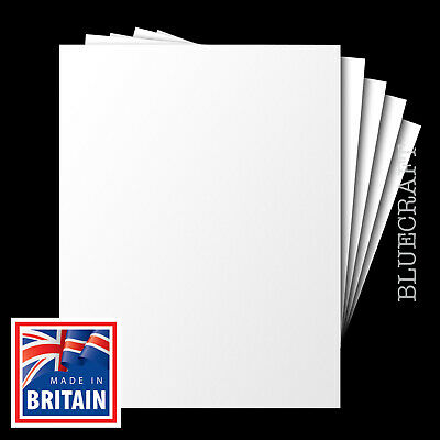 1000 x Bulk Pack A6 White Blank Postcards / Index Cards 230microns 170gsm
