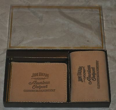 Jim Beam Wallet Leather 2 total