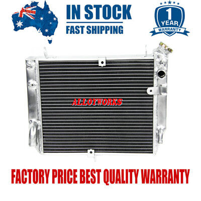 2 ROW 40Tmm All Aluminum Motorcycle Radiator FOR 02-03 02-03 Yamaha YZF R1