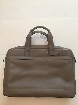 Nwt Coach Men S Leather Hudson Briefcase Crossbody Work Bag