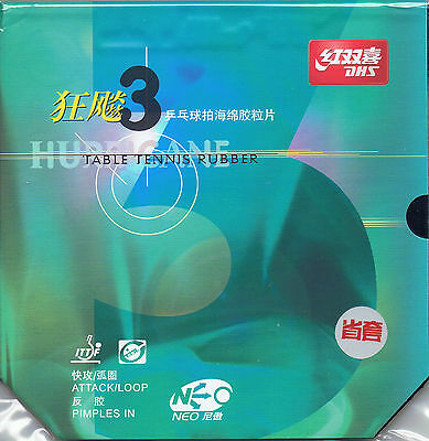 DHS Provincial NEO Hurricane 3 Table Tennis Rubber