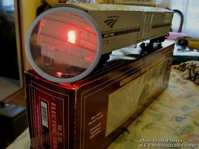 End of Train Flashing red light 1.8mm LED ** BATTERY** operated + Spare battery