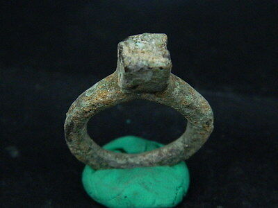 Ancient Bactrian C.200 BC Bronze Ring     ##1146##