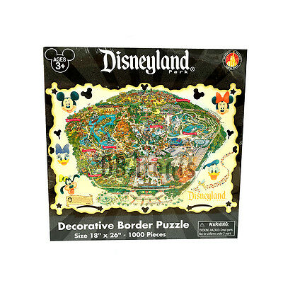 Disneyland Theme Park 1000 Piece Jigsaw Puzzle - Disney Parks Exclusive NEW!
