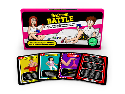 Bedroom Battle - Sexy Adult Board Game for Couples