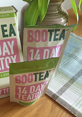 Bootea 14 Day or 28 Day Teatox Daytime Detox & Bedtime Cleanse