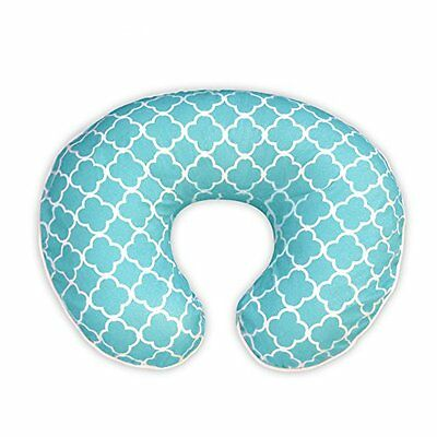 Boppy Pillow Covers Pillow Slipcover Classic Plus Trellis Turquoise/Blue