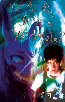 """Donnie Darko Frank The Rabbit """"Have you ever seen a Wormhole?"""" 11x17 poster"""