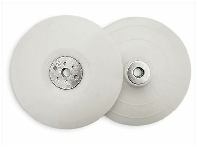 Flexipads World Class - Angle Grinder Pad White 180mm (7in) 5/8 x 11 UNC