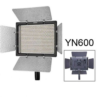 Yongnuo YN600 Pro LED 5500K Video Light + Remote for Canon Nikon Camcorder UK