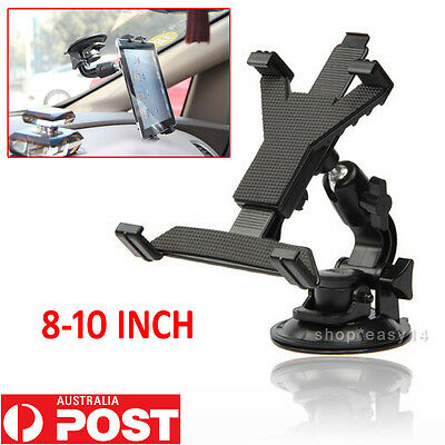 Universal Car Suction Mount Holder For Apple iPad Samsung Galaxy Tablet PC 8-10""