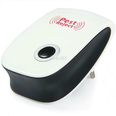 Indoor Anti Mosquito Rat Mice Pest Reject Control Repeller Ultrasonic Electronic