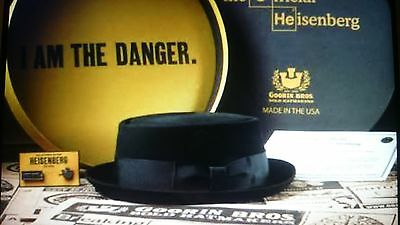 Goorin Official Breaking Bad Hat/Box Limited Edition