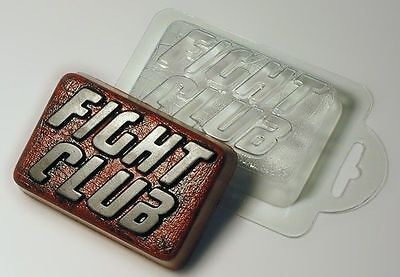 """""""Fight Club"""" plastic soap mold soap making mold mould"""