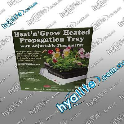 Heat'n'grow Single Heated Propagation Tray With Adjustable Thermostat