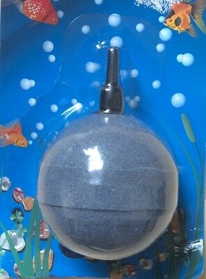 "2""/50mm Ball Airstone for Aquaiums or Ponds. Free First Class Post."