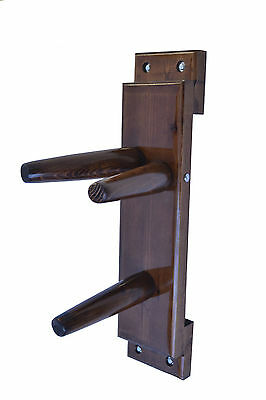 Wing Chun Wooden Dummy Plane Walnut Color