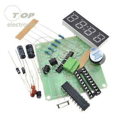 2PCS AT89C2051 Digital 4 Bits Electronic Clock Electronic Production Suite DIY K