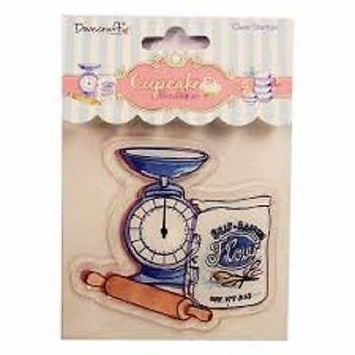 Dovecraft Cupcake Boutique BAKING Clear Stamp