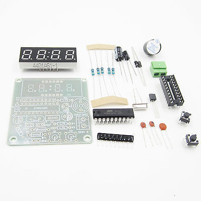 5PCS AT89C2051 Digital 4 Bits Electronic Clock Electronic Production Suite DIY K