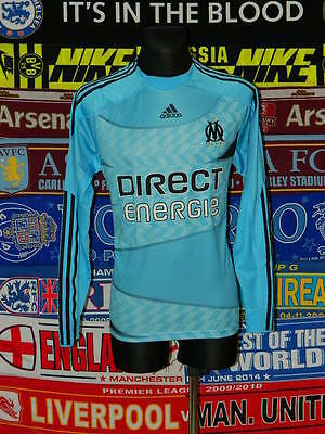 5/5 Olympique Marseille adults L 2009 mint football shirt jersey trikot maillot