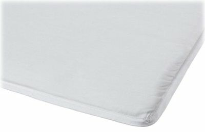 """Fitted Sheet for Arm's Reach Co-Sleeper Bassinet 100% Cotton- White 19""""x34.5"""""""