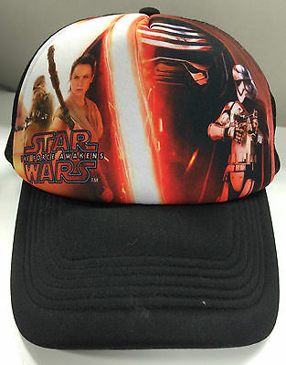 Star Wars The Force Awakens Trucker Cap Baseball Hat
