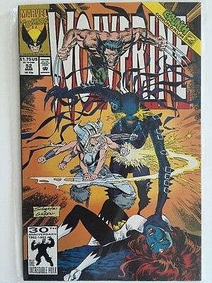 Wolverine #52 Mar 1992 Citadel At The End Of Time Crunch Conundrum 2 Of 3