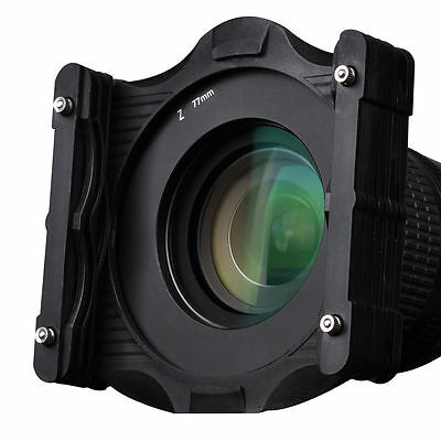 Zomei Square Filter Holder 77mm Ring for  4X4  4X5. 65 LEE Cokin Z HITECH system
