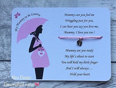 Mummy To Be Card, Baby Bump, Pregnancy, New Baby, Baby on the way, sash gift