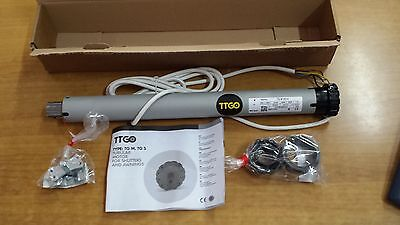 TUBULAR MOTOR FOR ROLLING SHUTTERS AND AWNINGS MOTOR 60kg 30nw NICE TTGO ITALY