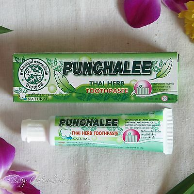 PUNCHALEE Natural Herb Toothpaste Relieves Toothache, Tooth Decay, Fresh Breath